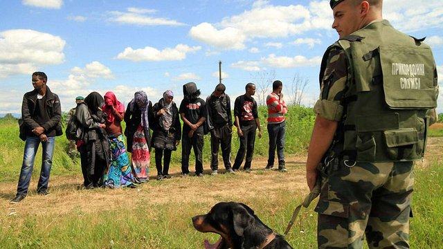 Українських прикордонників перевіряють на причетність до схеми з сирійськими нелегалами