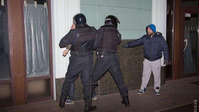 Під час матчу Ліги Європи «Зоря»–«Манчестер» в Одесі сталася бійка фанатів