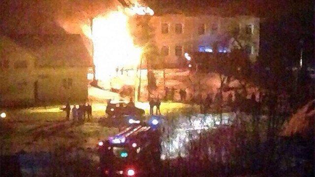 Внаслідок пожежі на Львівщині пошкоджений навчальний корпус сільської школи