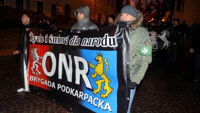 Учасники маршу орлят у Перемишлі скандували «Смерть українцям»