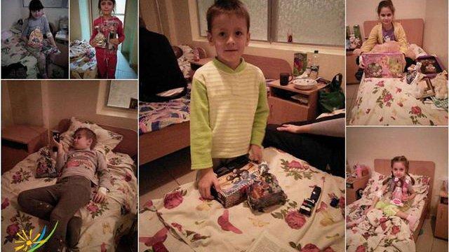 У Львові збирають подарунки до Миколая для дітей у лікарнях