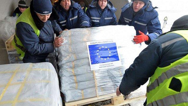 Єврокомісія виділила додатково €4 млн на гуманітарну допомогу жителям Донбасу