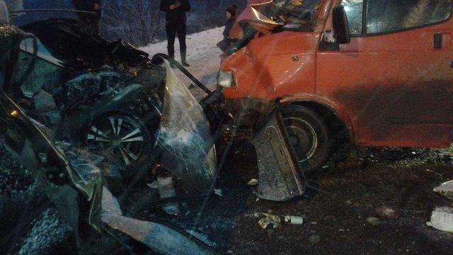 На вул. Шевченка водій спричинив потрійну ДТП, унаслідок якої загинув на місці