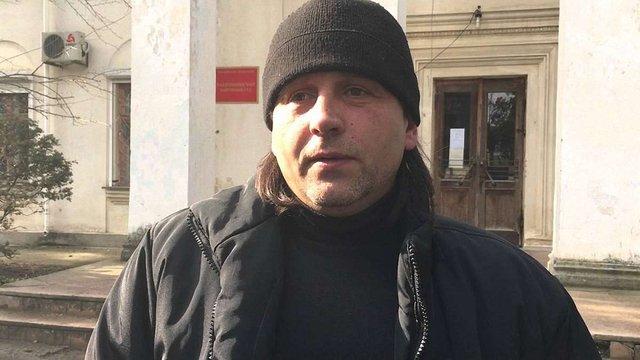 У Криму українському активісту Володимиру Балуху висунули звинувачення
