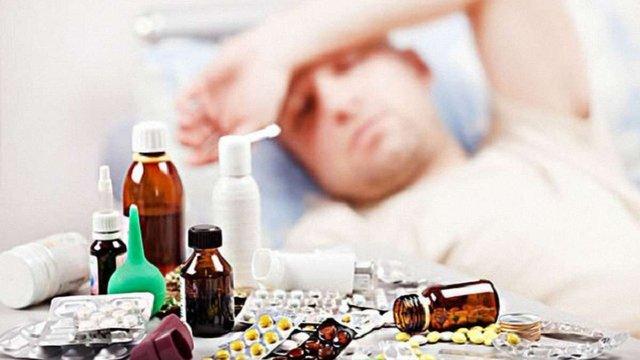 В Україні на грип та ГРВІ за тиждень захворіли понад 300 тис. людей