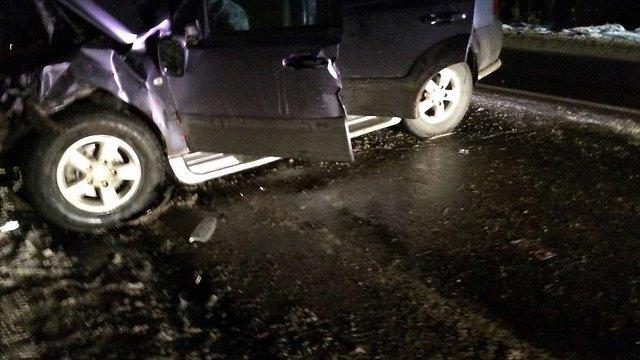 У ДТП на трасі Львів-Краковець постраждали четверо людей, зокрема двоє дітей
