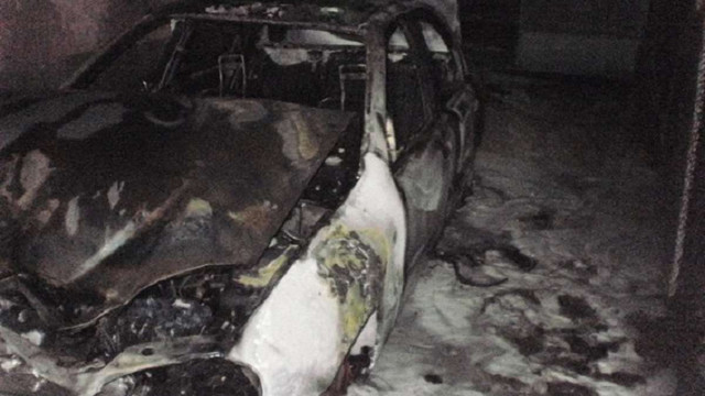 В Ужгороді спалили авто керівника одного з департаментів міської ради