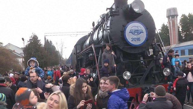 На свята у Львові можна буде покататися на ретро-поїзді
