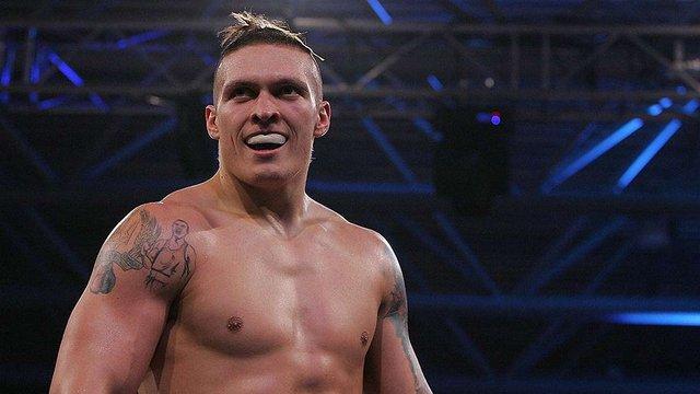 Український боксер Олександр Усик захистив титул чемпіона WBO