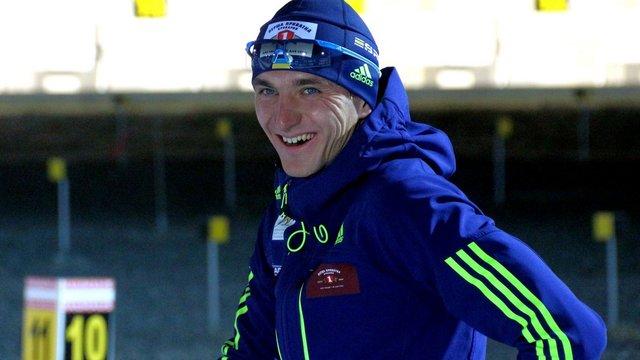 Біатлоніст Дмитро Підручний фінішував п'ятим у мас-старті