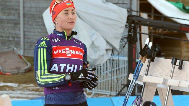 Біатлоністка Валя Семеренко з січня планує повернутись до виступів на етапах Кубку світу