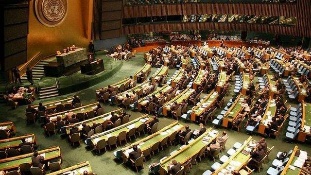 На Генасамблеї ООН ухвалили резолюцію про ситуацію з правами людини в Криму