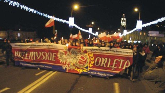 У Польщі висунули звинувачення поляку за антиукраїнські гасла на марші у Перемишлі