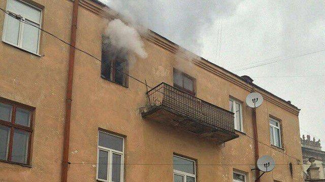 У Львові через пожежу у житловому будинку загинув 78-річний пенсіонер