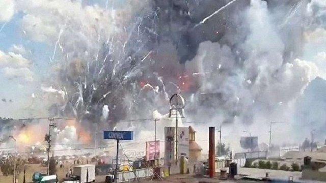 29 людей загинуло внаслідок вибуху на ринку феєрверків у Мексиці