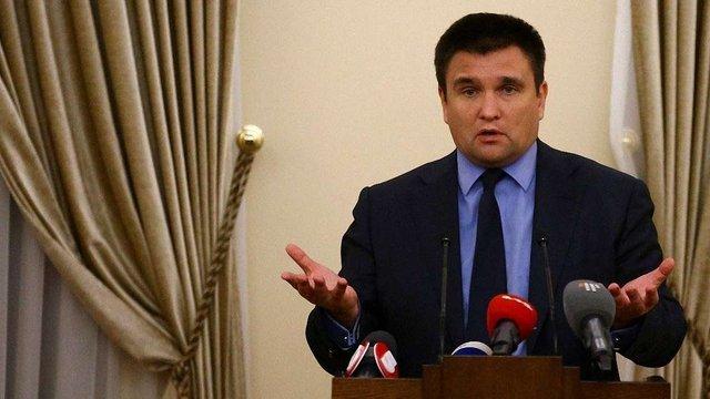 МЗС готує механізми впровадження віз для Росії, - Клімкін