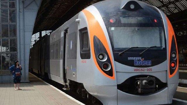 «Укрзалізниця» скасувала потяг Інтерсіті+ Київ-Трускавець