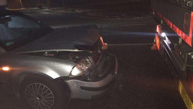 На об'їзній Львова зіткнулися чотири автомобілі