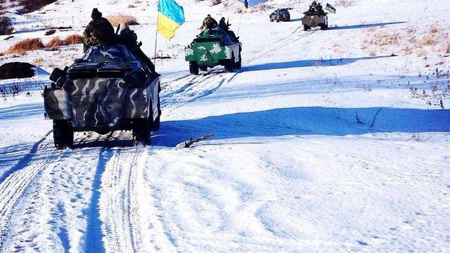 Відсьогодні на Донбасі встановлено святковий режим припинення вогню