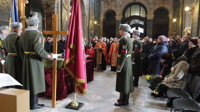У Львові попрощались із загиблим у зоні АТО Всеволодом Ратушним