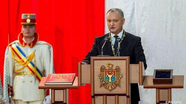 Ігор Додон склав присягу президента Молдови