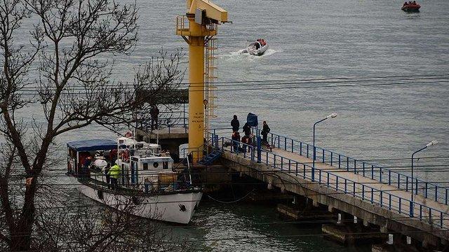 Російські рятувальники виявили місцезнаходження чорних скриньок літака Ту-154