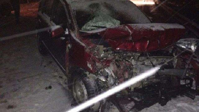 П'ятеро осіб постраждали у ДТП неподалік пункту пропуску «Ужгород»