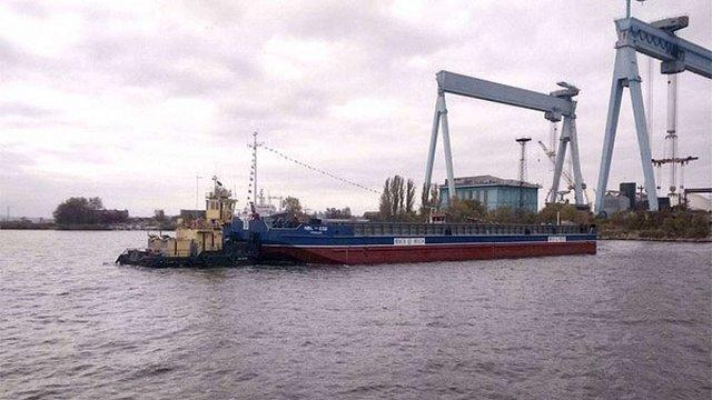 Українське Дунайське пароплавство отримало баржі, які замовили ще 27 років тому