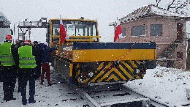 На польсько-українському кордоні вперше за 22 роки відновили залізничне сполучення євроколією
