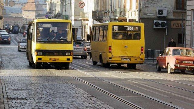 Львівська мерія змінила сім автобусних маршрутів