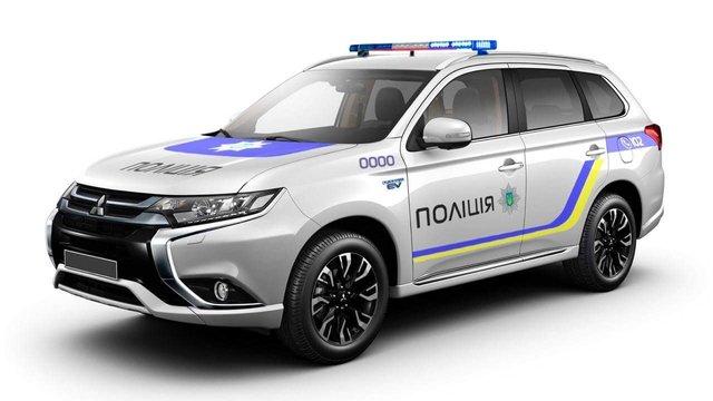 Mitsubishi Motors знизила вартість гібридних позашляховиків для української поліції на 14%