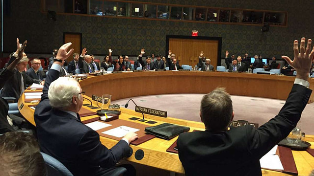 Рада безпеки ООН схвалила запропоновану Росією резолюцію припинення вогню у Сирії