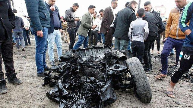 Унаслідок вибуху у Багдаді  поранено понад 60 осіб, 32 з яких загинули