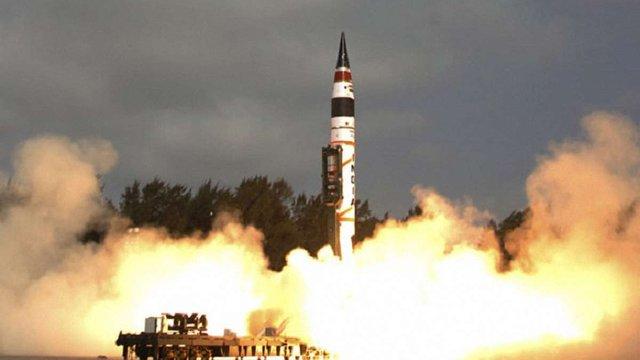 В Індії успішно випробували балістичну ракету