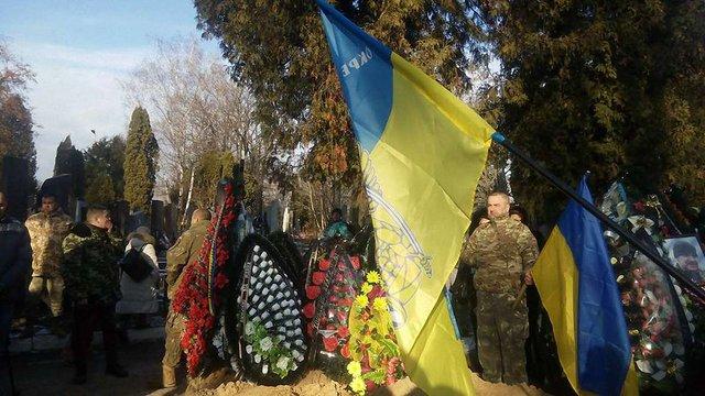 У Києві поховали вбитого в зоні АТО бійця «Козака»