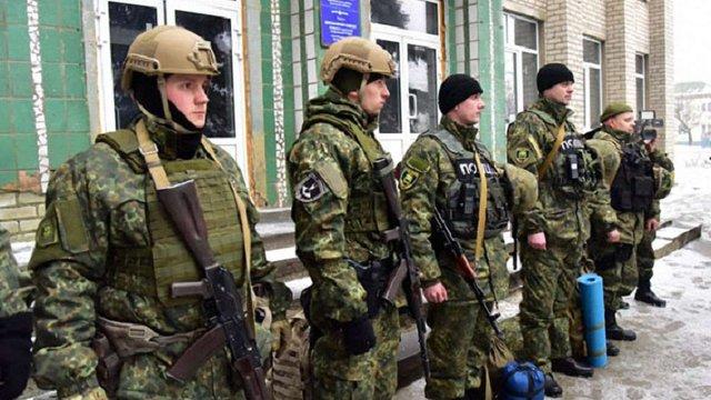 У «сірій зоні» на Донеччині створили поліцейський пункт