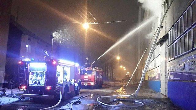 Пожежа на заводі «Електрон» у Львові завдала збитків на  ₴50 млн