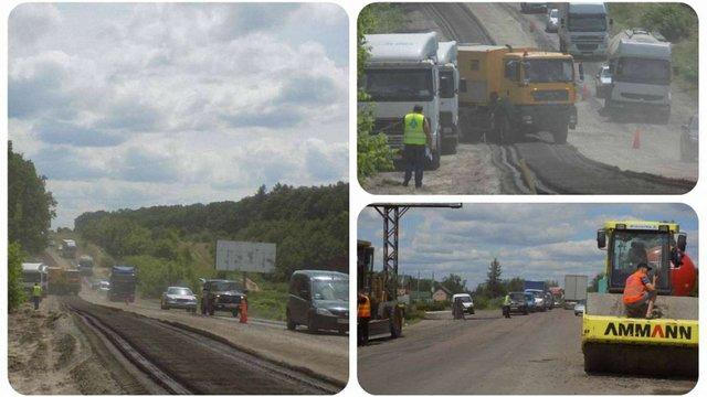 Львівщина отримала найбільше коштів на ремонт доріг від митного експерименту