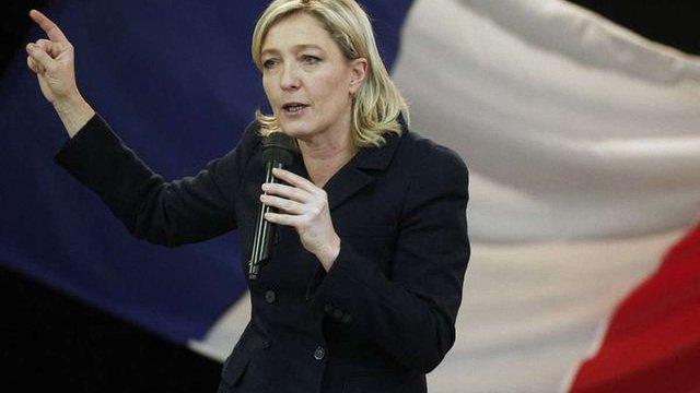 У штабі Ле Пен прокоментували можливу заборону на її в'їзд в Україну