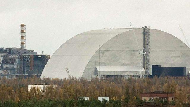 Завдяки встановленій арці на Чорнобильській АЕС радіаційний фон зменшився вдвічі