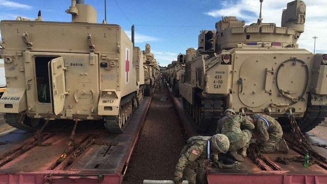 США розмістять у Польщі бойову бронетанкову бригаду