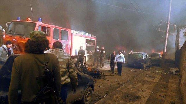 Внаслідок вибуху автомобіля у Сирії загинуло 43 людини