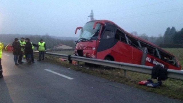 У Франції внаслідок ДТП з автобусом загинули 4 людини