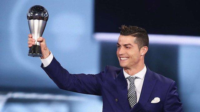 Кріштіану Роналду став найкращим гравцем року за версією ФІФА