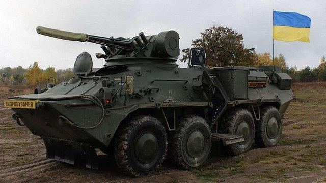 На Київщині провели випробування нового бронетранспортера