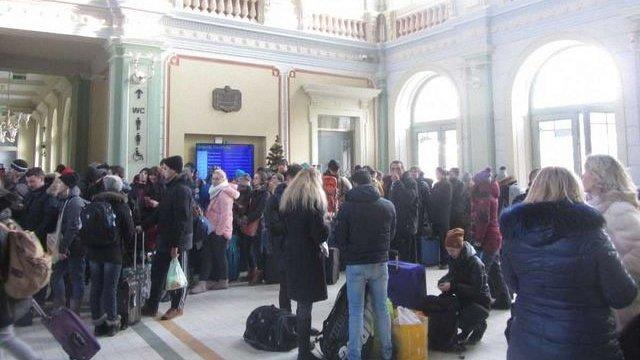 Інтерсіті Київ-Перемишль заповнений пасажирами майже на 100%