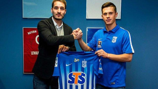 Захисник «Карпат» перейшов у польський «Лех» за €300 тис.