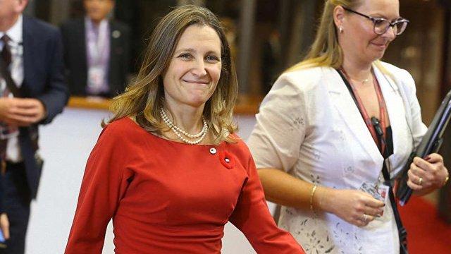 Нова голова МЗС Канади опинилась в російських санкційних списках