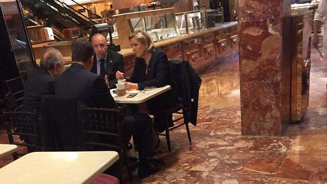 Марін Ле Пен таємно зустрілася з Трампом у Нью-Йорку, - Bloomberg