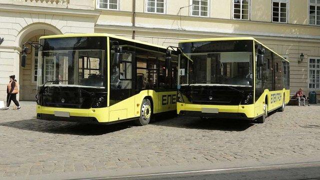 Першу партію з 55 нових автобусів «Електрон» Львів отримає до кінця січня